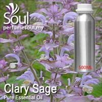 Pure Essential Oil Clary Sage - 500ml